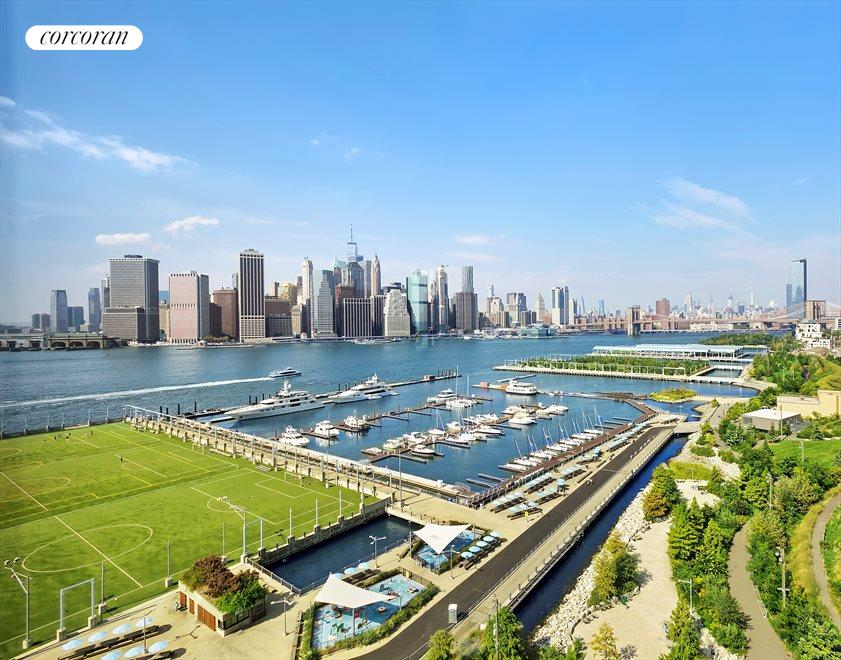 Brooklyn Bridge Park and Marina