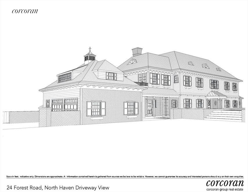proposed traditional home rendering