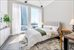 35 HUDSON YARDS, 5404, Bedroom with views to the south