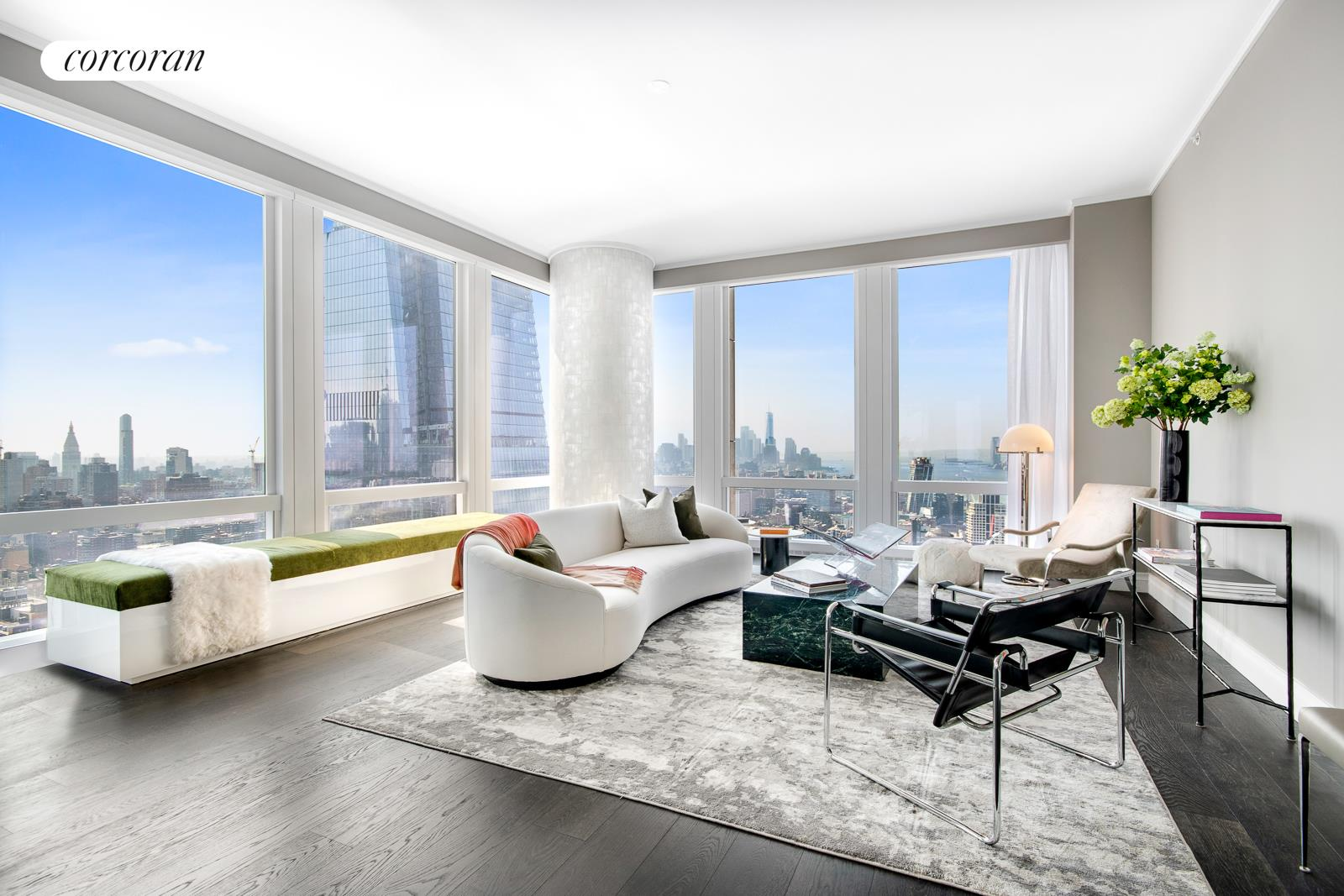 35 HUDSON YARDS, 5404, Living Room