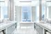 35 HUDSON YARDS, 5404, Windowed Master Bathroom with double vanity