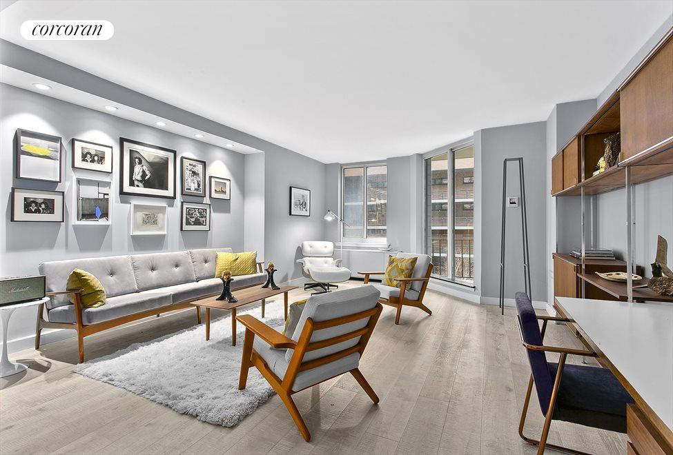 New York City Real Estate | View 333 RECTOR PLACE, #411 | 1 Bed, 1 Bath