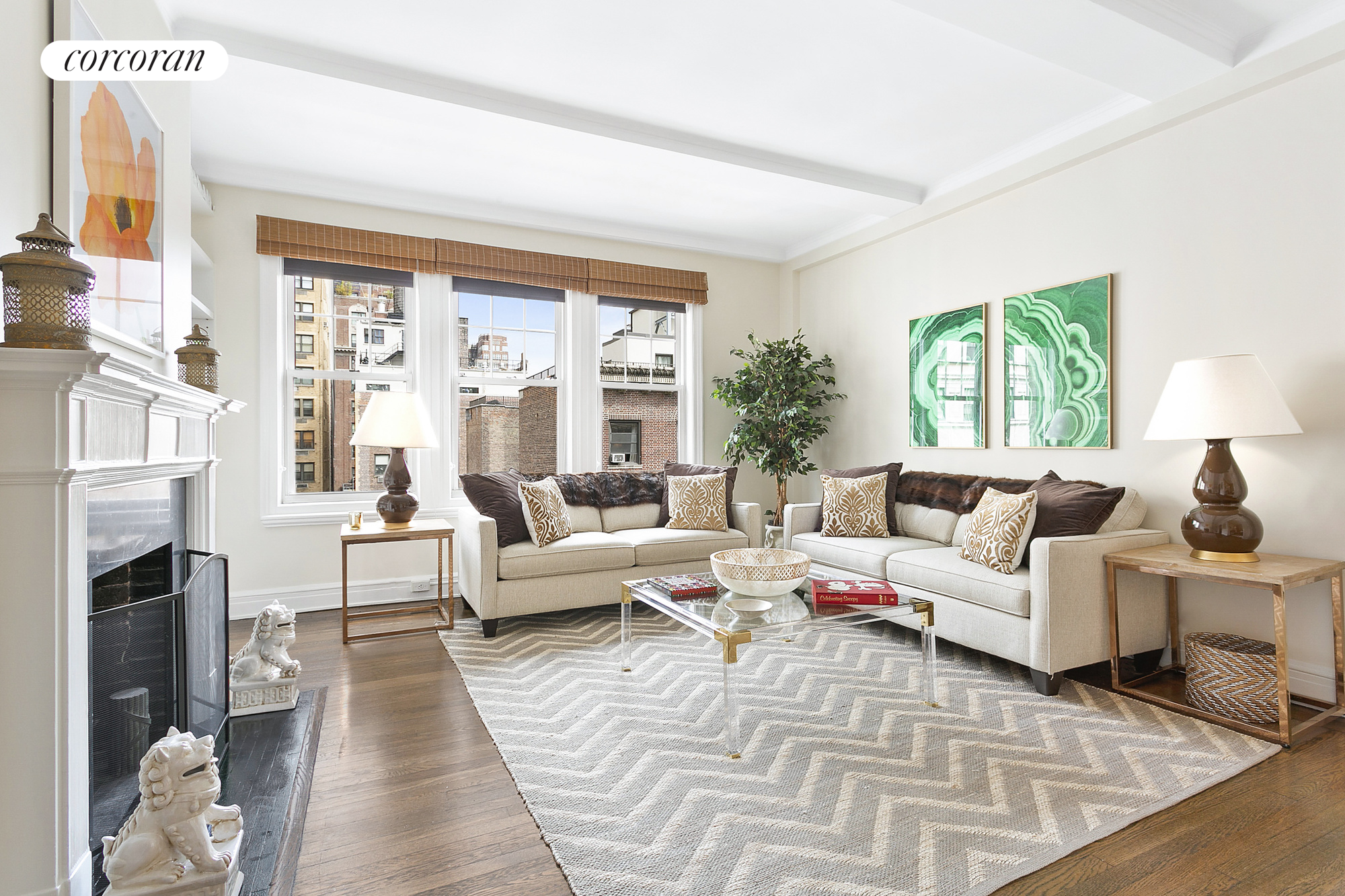 108 East 82nd Street, 9A, Living Room