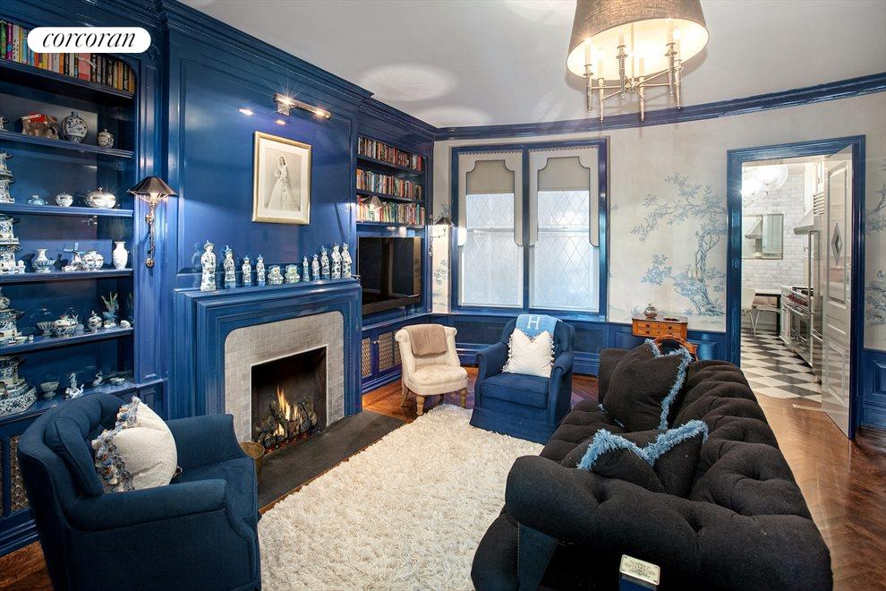 New York City Real Estate | View 1067 Fifth Avenue, #2 | Family Room
