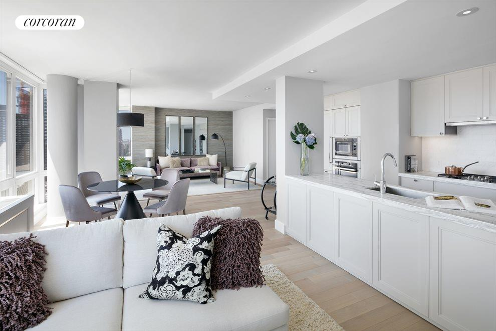 Open Kitchen with Miele Appliances
