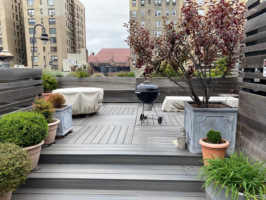 New Roof Deck