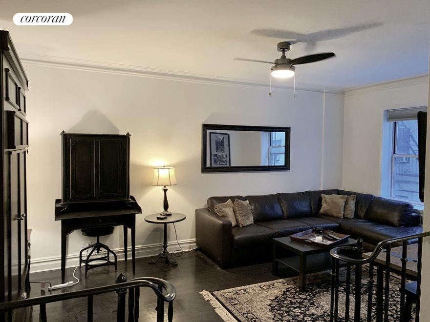 Generous size living room