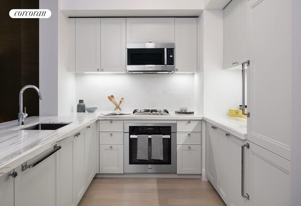 Kitchen with Miele Appliances