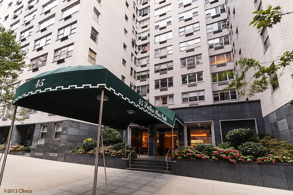 45 Sutton Place South, 2K, Outdoor Space