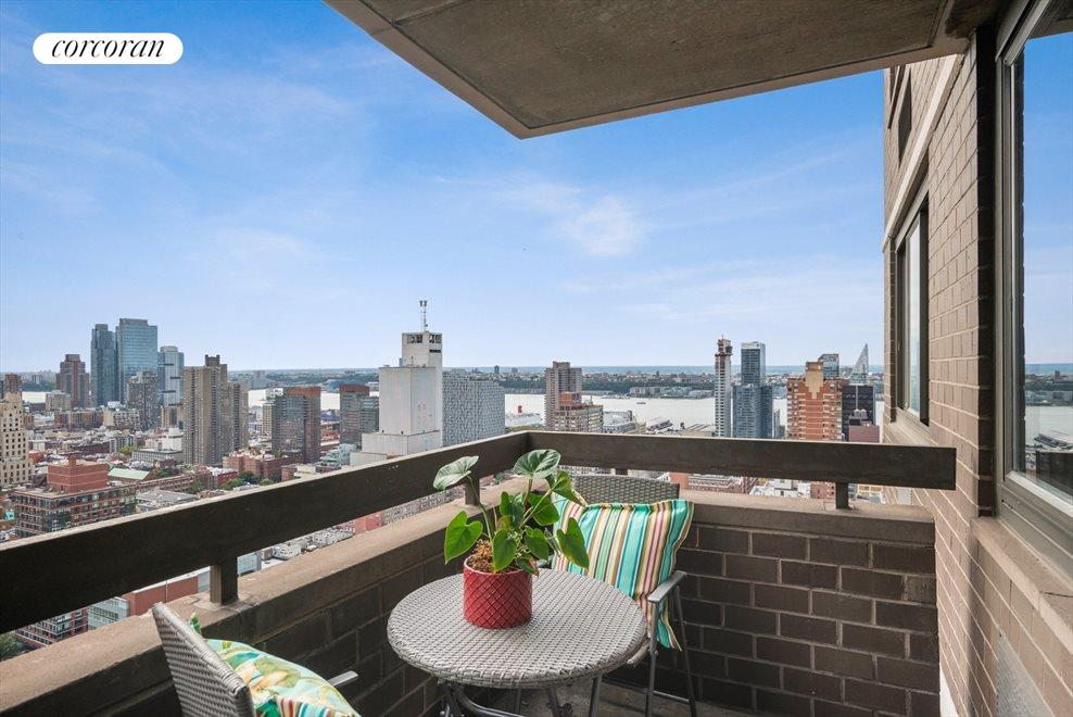 Hudson River Views from your balcony