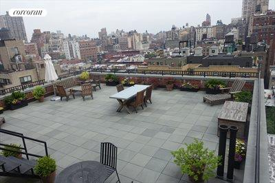 New York City Real Estate | View 15 West 67th Street, #3RE | Common Roof Deck