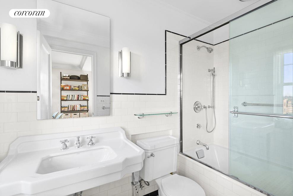 Updated Bathroom with Prewar Elements