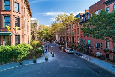 New York City Real Estate | View 30 Remsen Street, #3b | 30 Remsen Street  just doors down to Promenade