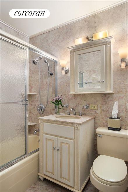 Renovated bathroom, one of total of 4