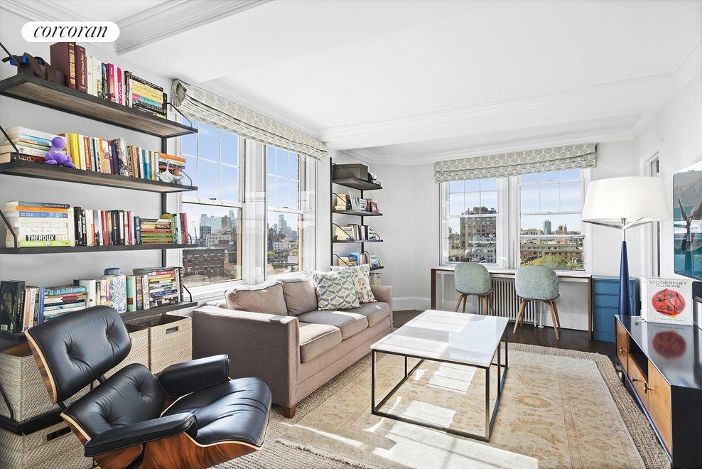 Bedroom/Den with West Views to Hudson River