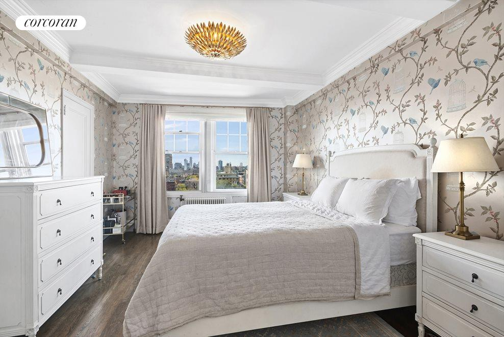 Bedroom with Hudson River Views