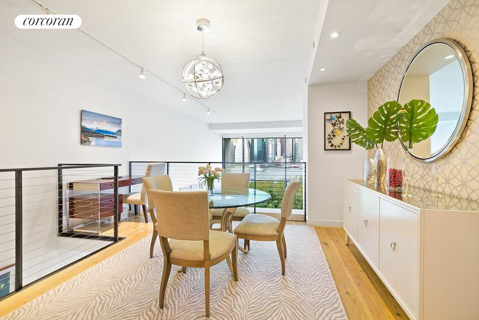 Dining Room with Office Nook