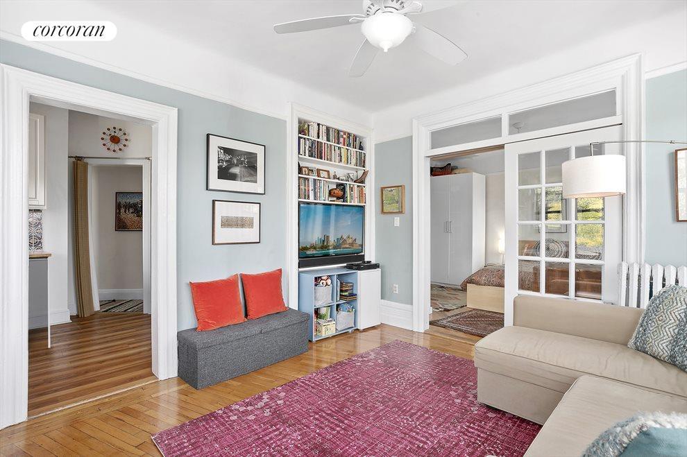 Open floor plan creates a loft-like feel