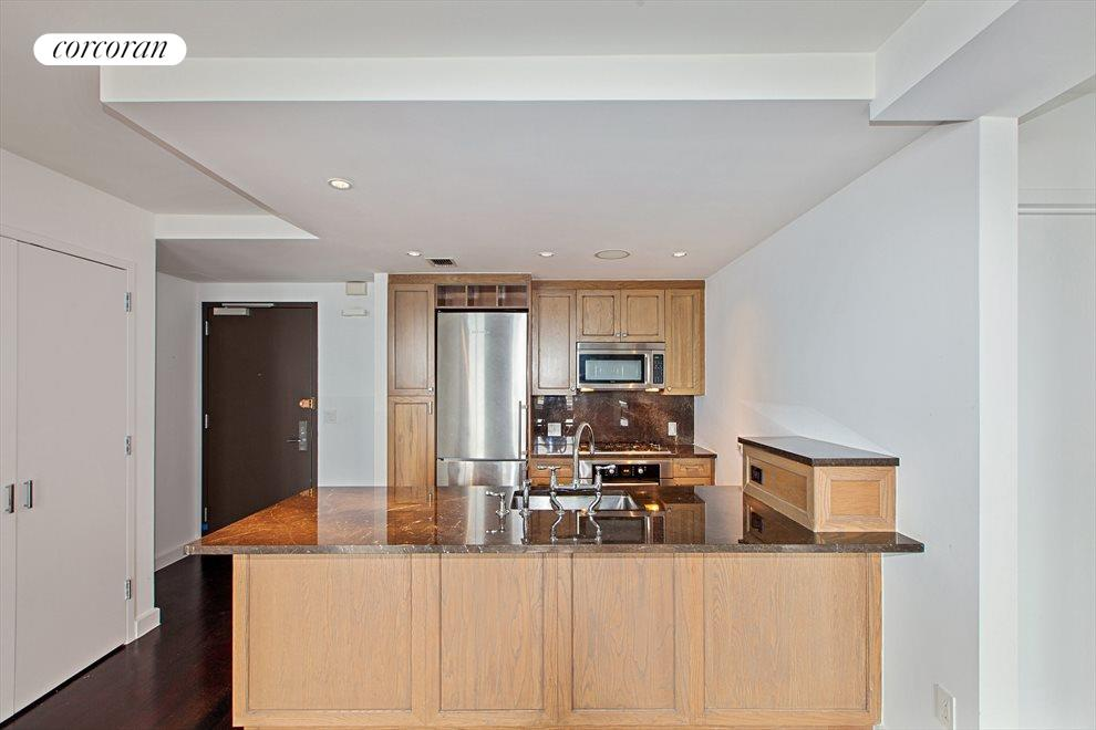 modern and Open Kitchen With Breakfast Bar