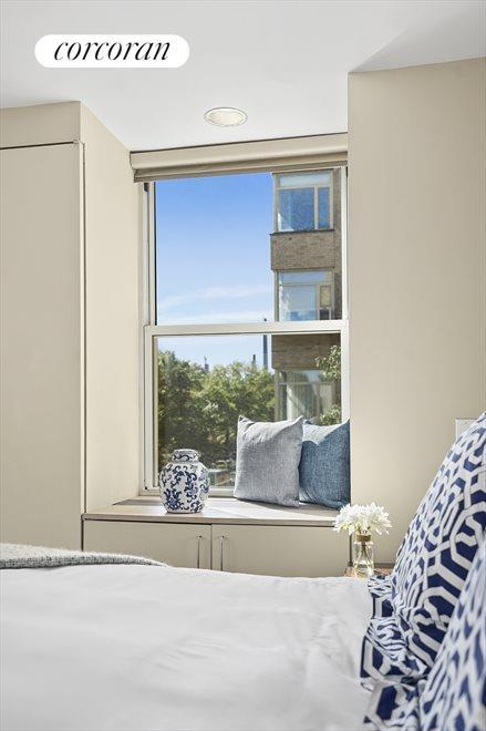 City Skyline Views in a Sunny Window!