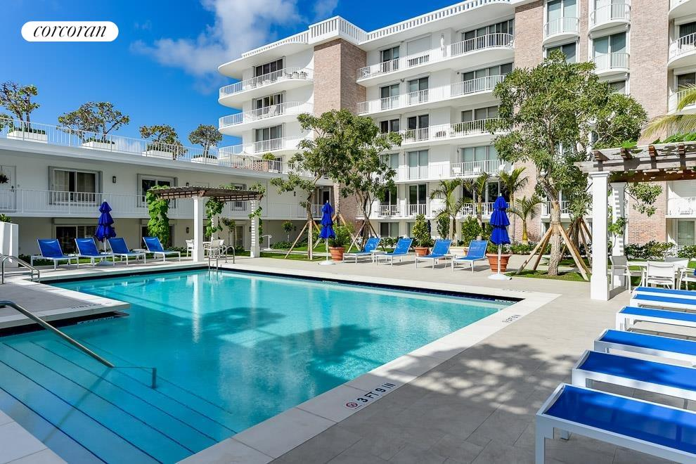 South Florida Real Estate | View 100 Worth Avenue #605 | Pool