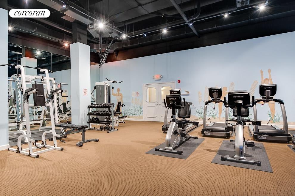 South Florida Real Estate | View 100 Worth Avenue #605 | Gym