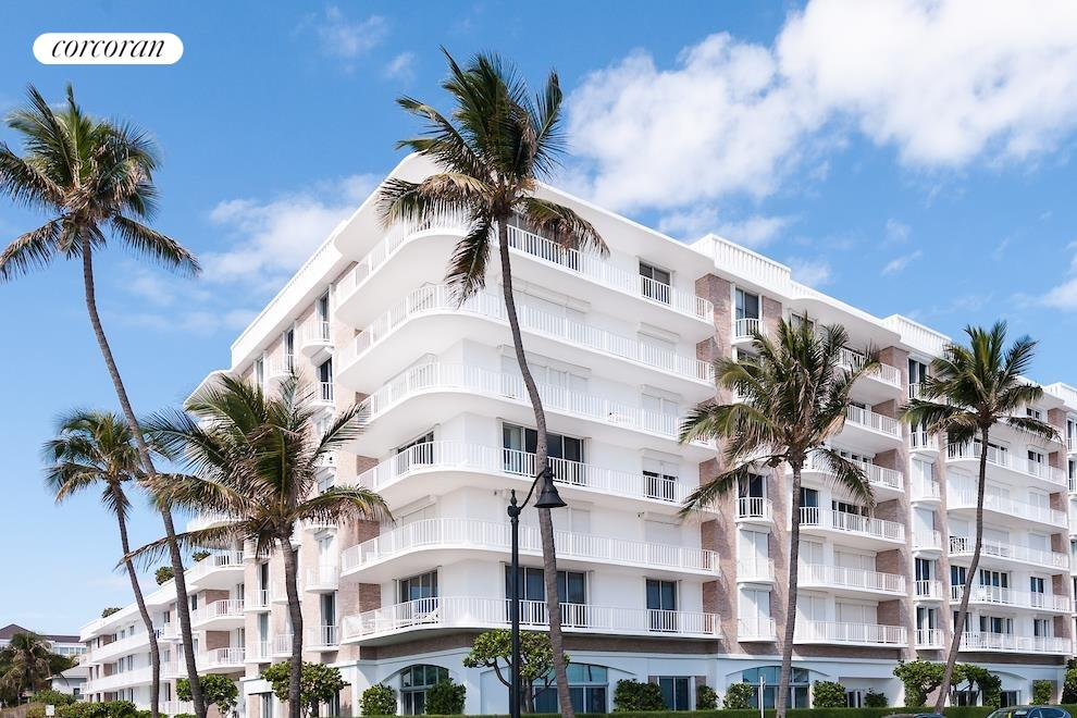 South Florida Real Estate | View 100 Worth Avenue #605 | Front Elevation