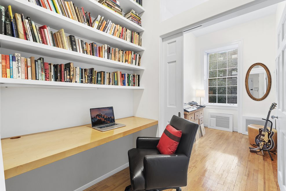 New York City Real Estate | View 137 East 15th Street, #1B | Office outside of the 2nd Bedroom