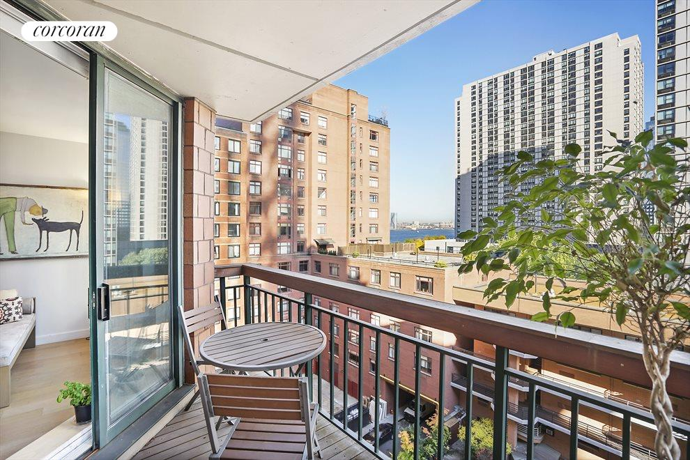 New York City Real Estate | View 333 RECTOR PLACE, #900 | 1 Bed, 1 Bath