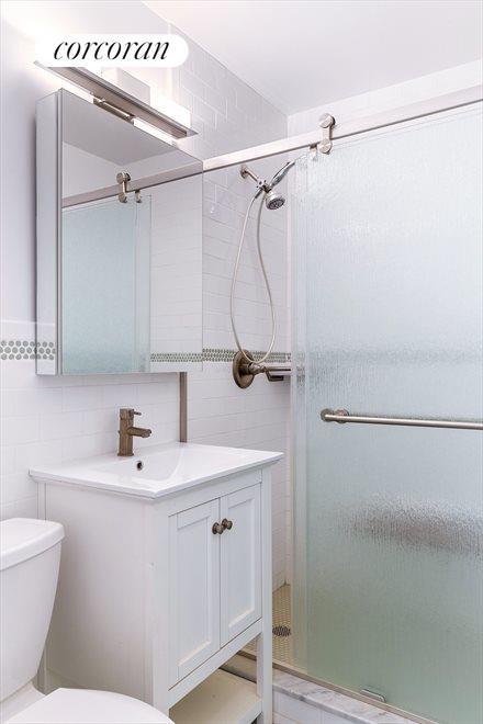 Renovated bathroom is a beauty!