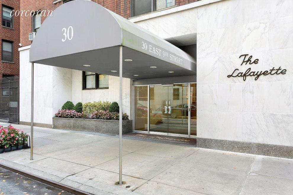 Lafayette Apartment Building | View 30 East 9th Street | Building Exterior