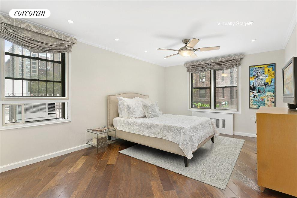 Corner Master Bedroom