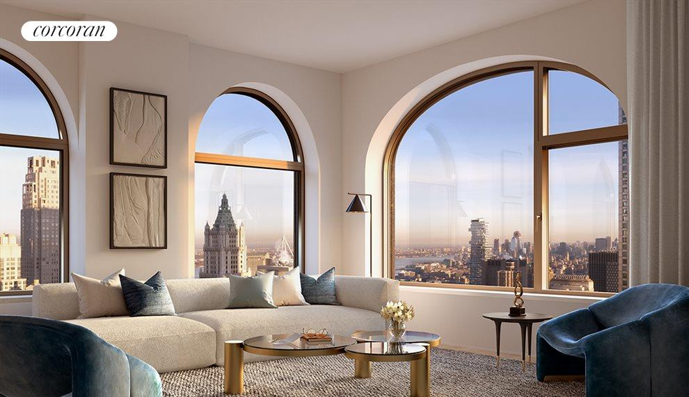 New York City Real Estate | View 130 WILLIAM ST, #26E | 2 Beds, 2 Baths