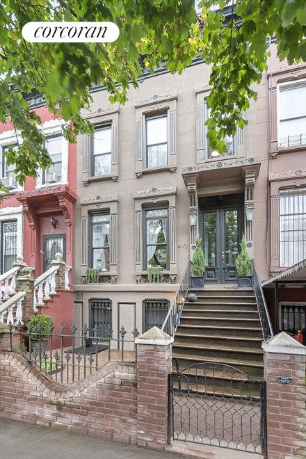 Four story Brownstone on a tree-lined block!