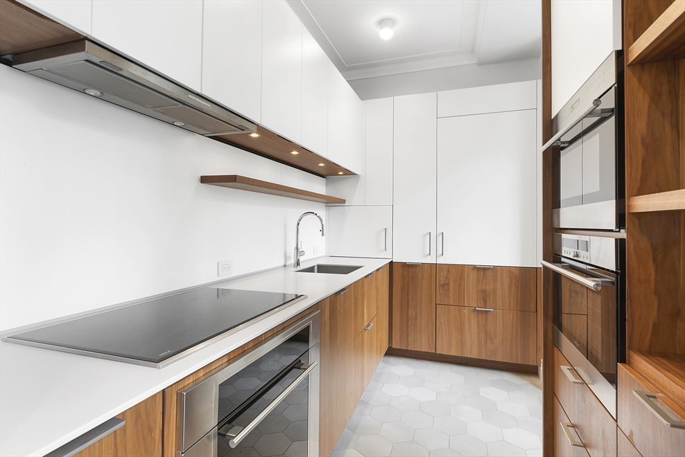 Windowed Modern Kitchen