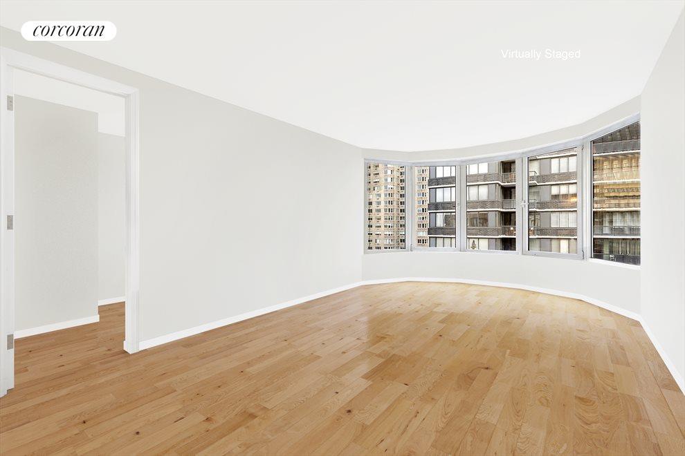 Master Bedroom Suite with circular bay window