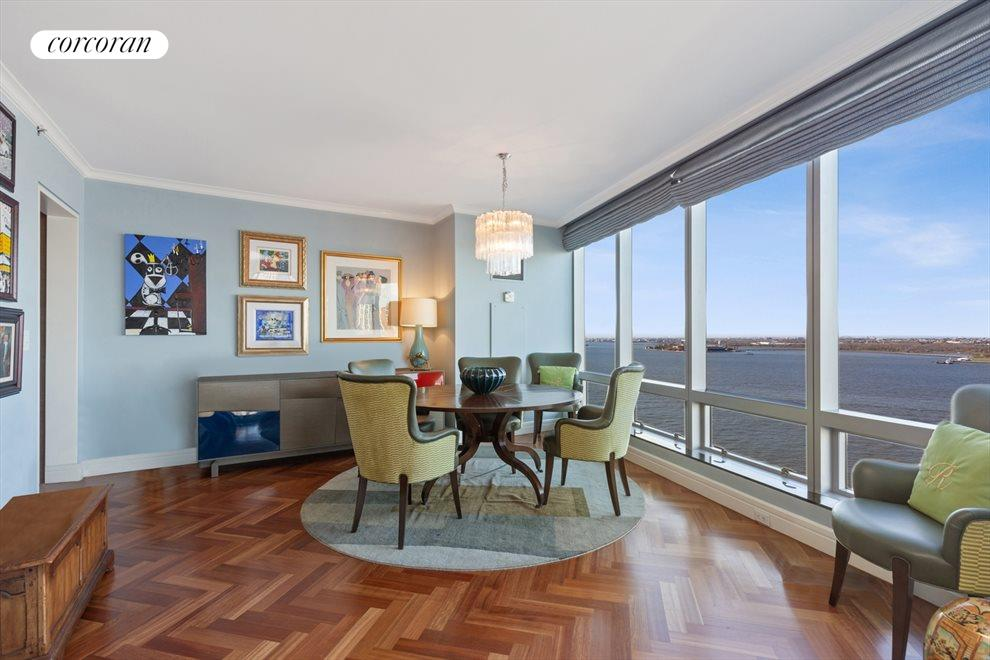 Dining Room with Direct River Views