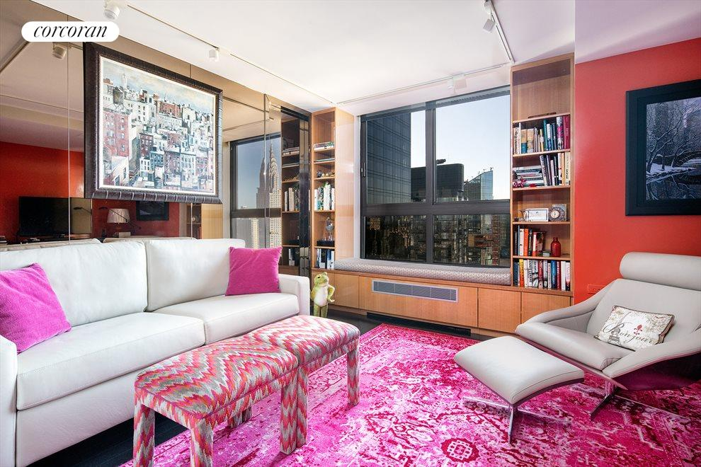 New York City Real Estate | View 100 United Nations Plaza, #50B | South facing 3rd bedroom with en suite bathroom