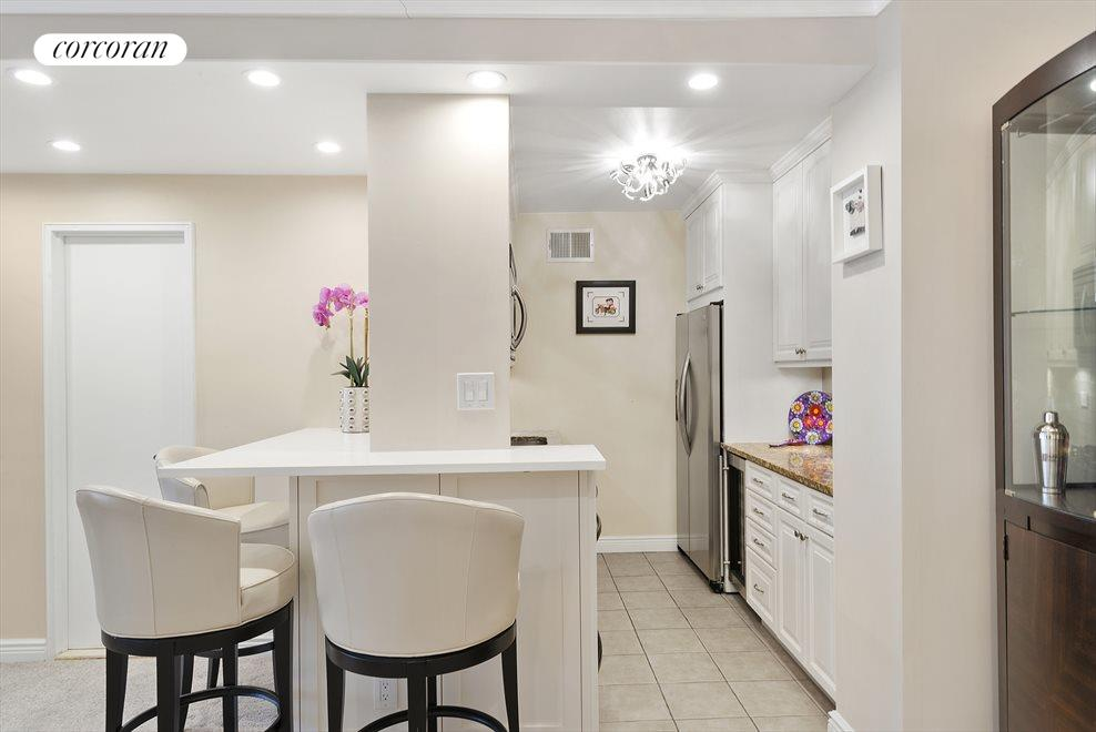 Renovated Kitchen with Breakfast Bar