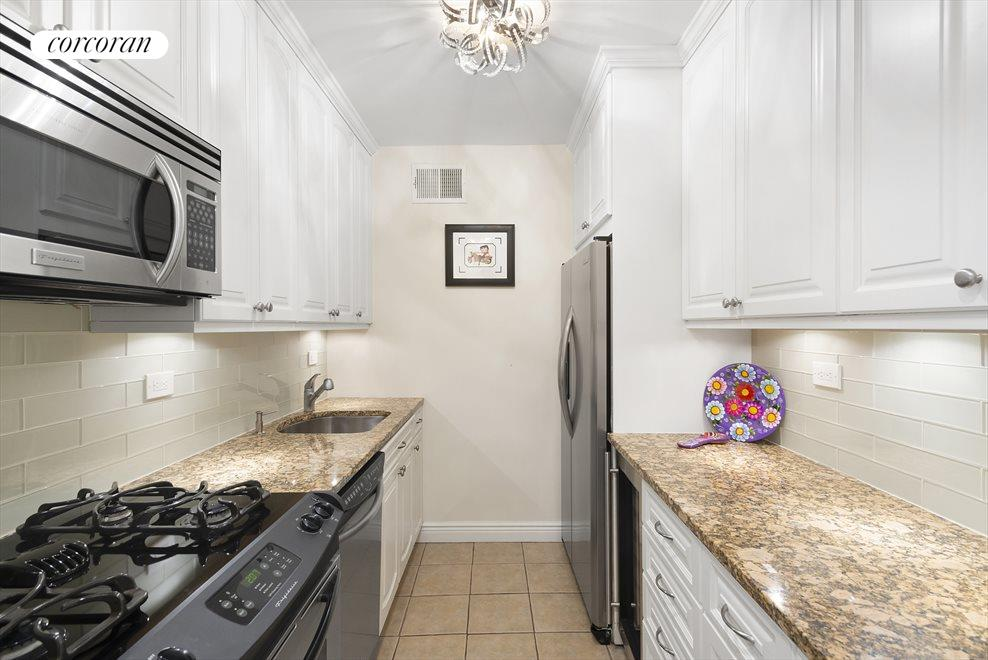 Renovated Kitchen with Wine Fridge & New Cabinets