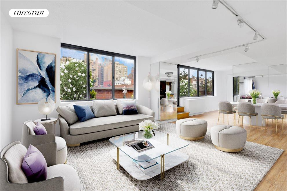 Living Room Staged