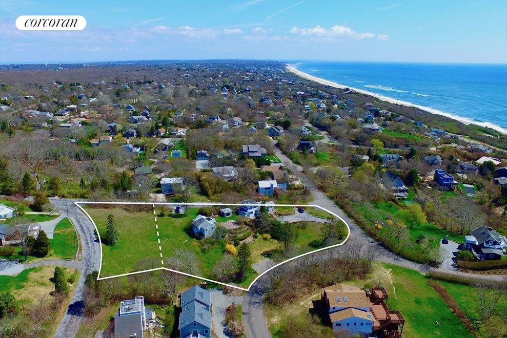 1.4 Acres, 2 contiguous properties offer 2 homes, vacant lot for guest home, pool, tennis !