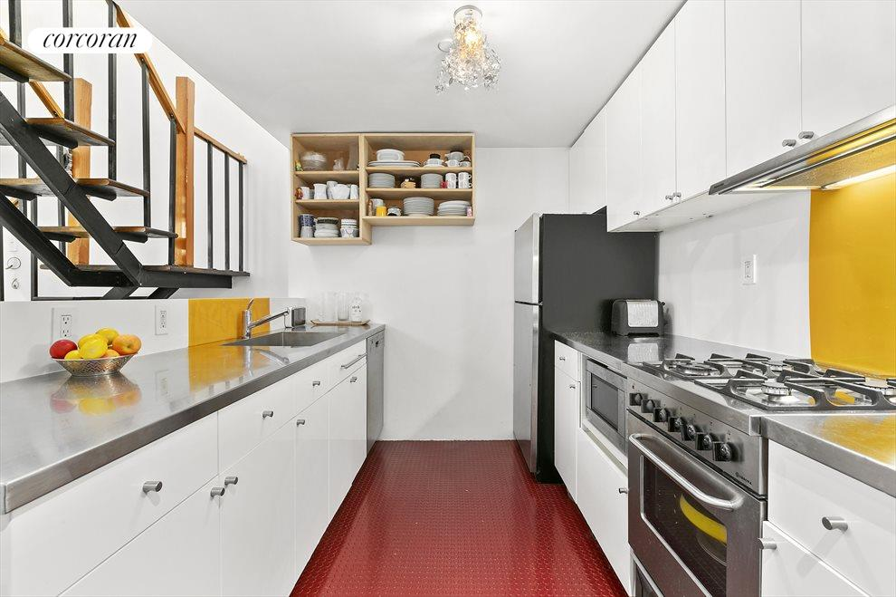 Kitchen w/ Stainless Steel Appliances