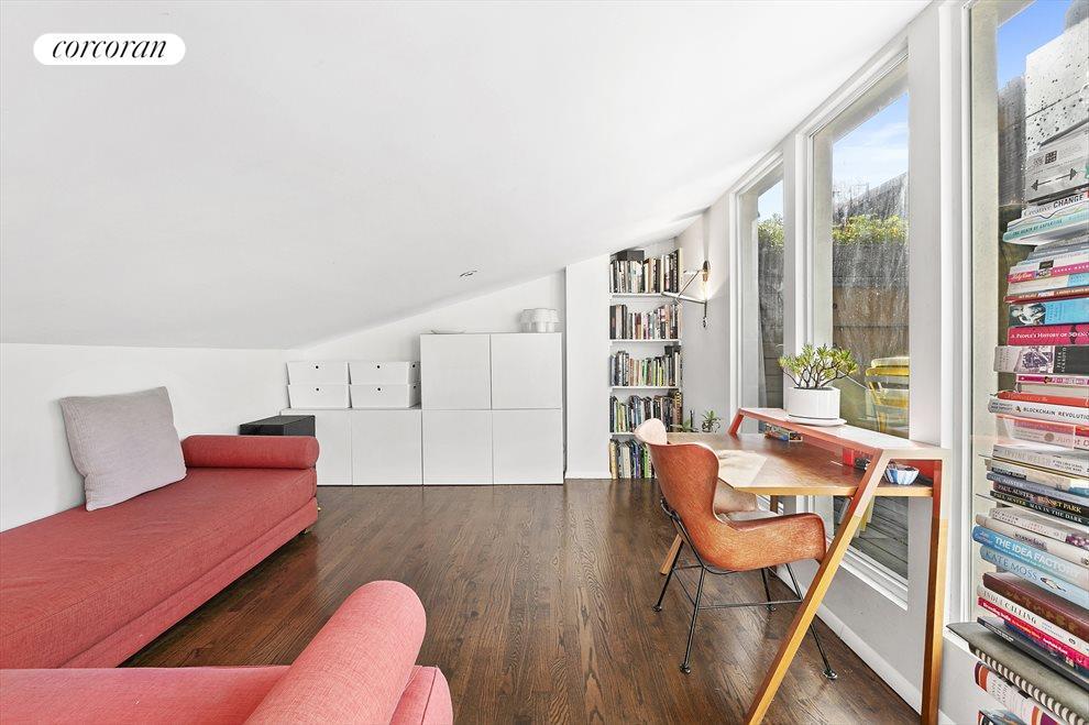 Bedroom / Den w/ Direct Access to Roof Deck