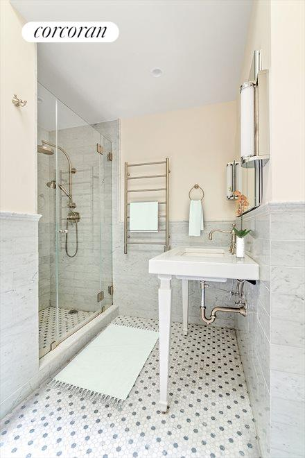 New York City Real Estate | View 145 Berkeley Place | Master Spa Bathroom