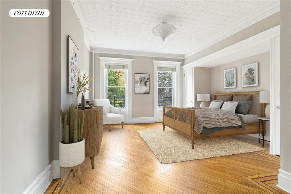 New York City Real Estate | View 145 Berkeley Place | Master Suite