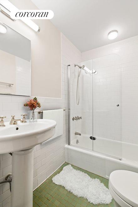 New York City Real Estate | View 145 Berkeley Place | Garden Level Bathroom