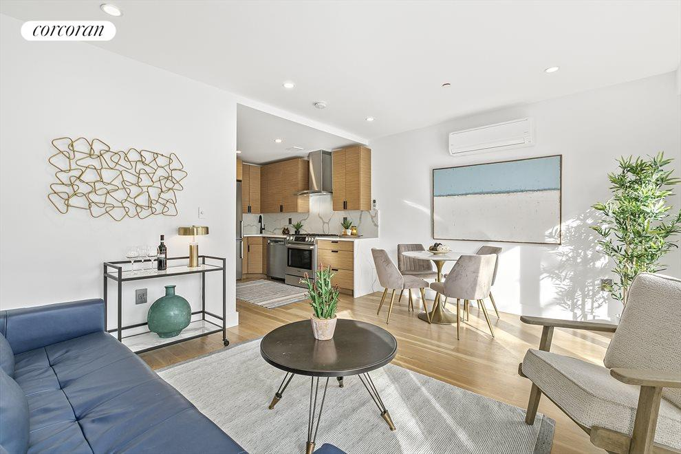 New York City Real Estate | View 213 Halsey Street, #2 | 2 Beds, 1 Bath