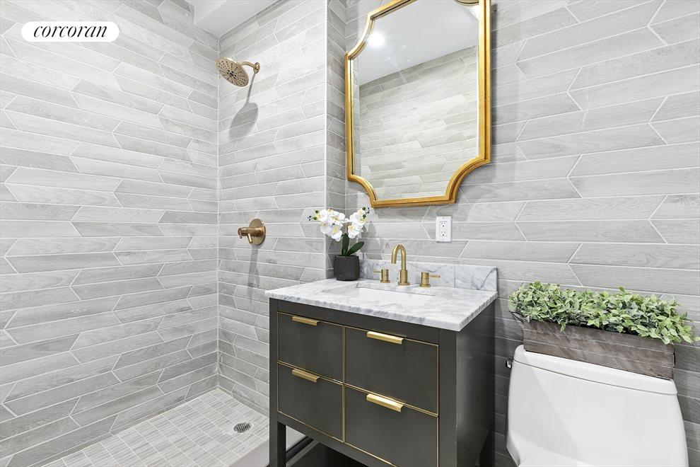 Contemplative designer bathrooms!