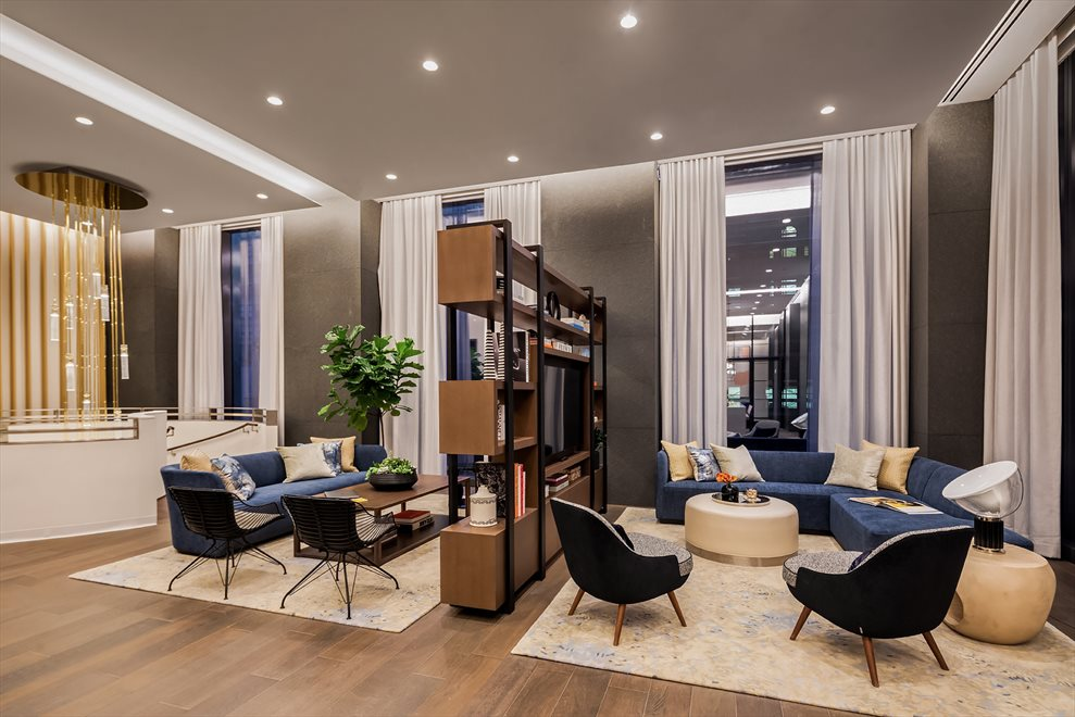 New York City Real Estate | View 277 Fifth Avenue, #33B | Resident's Lounge